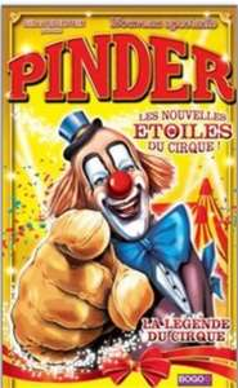 Entrée Cirque Pinder dans Les nouvelles étoiles du cirque à partir de 5,95€  - Paris (75)