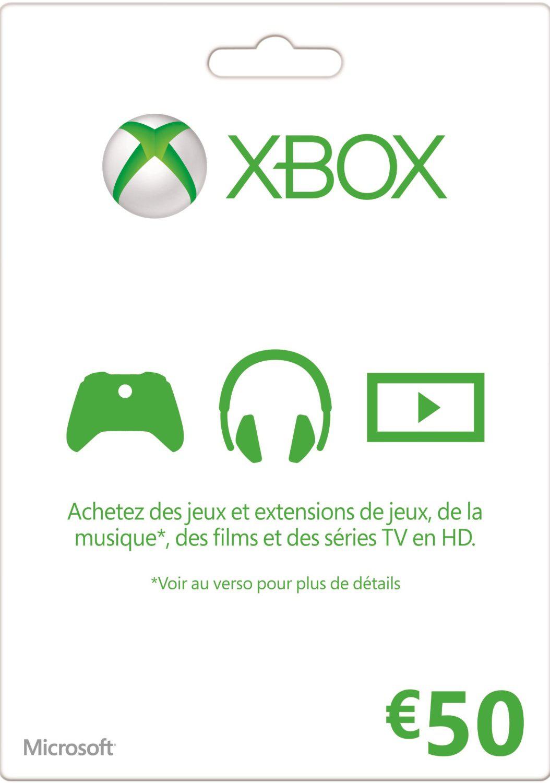 Abonnement Xbox Live 13 mois ou Carte Xbox Live 50€