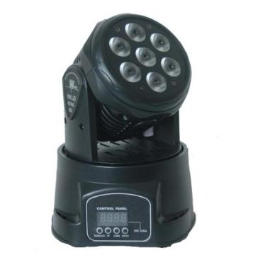 Projecteur Lyre Wash à LED - 7 x12 w (noizikidz.com)