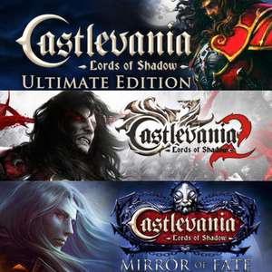 Castlevania Triple Pack: Lords of Shadow - Ultimate Edition + Lords of Shadow 2 + Mirror of Fate HD sur PC (Dématérialisés - Steam)