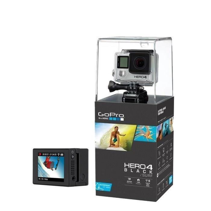 GoPro HERO4 Black Surf + GoPro Ecran LCD