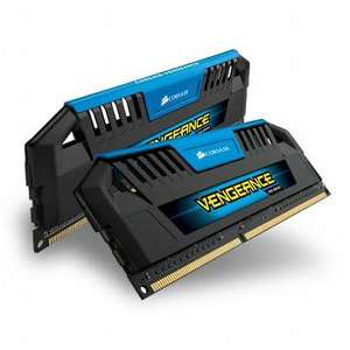Kit Mémoire PC Corsair Vengeance Pro Blue 16 Go (2 x 8 Go) DDR3-1600 PC3-12800 CL9 (CMY16GX3M2A1600C9B)