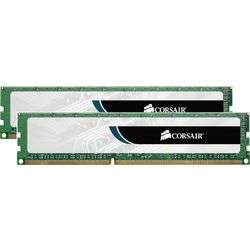 Kit Mémoire 16Go (2 x 8 Go) DDR3 Corsair Value Select PC10600 1333MHz CL9