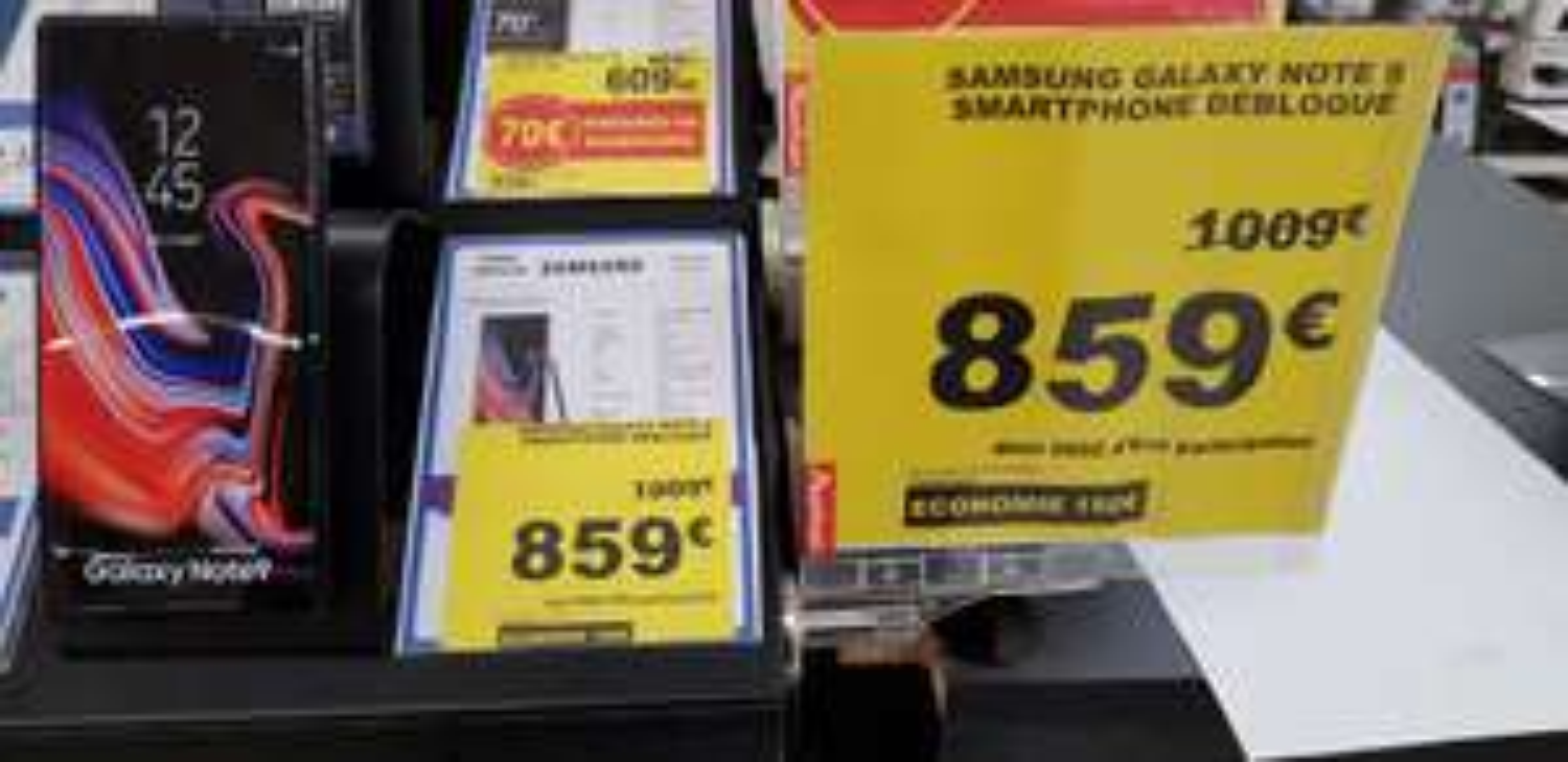 """Smartphone 6.4"""" Samsung Galaxy Note 9 - QHD+, Exynos 9810, RAM 6 Go, ROM 128 Go (Grande-Synthe 59)"""