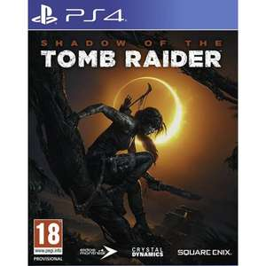 Shadow of the Tomb Raider sur PS4