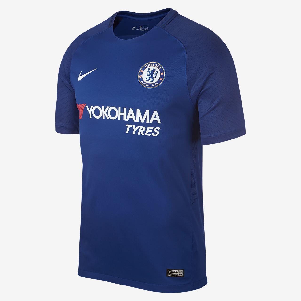Maillot Domicile Nike Chelsea FC - Saison 2017/2018