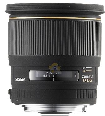 Sigma 28 mm f/1,8 EX DG ASP Macro monture Canon