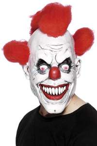 [Prime Amazon] Masque de clown effrayant avec cheveux Smiffys
