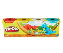 Pâte à modeler (assortiment)   Play-doh 4 pots couleurs