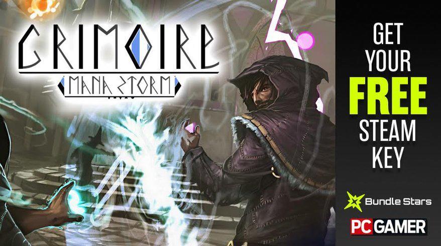 Jeu Grimoire Manastorm - Early Access gratuit sur PC (Steam)