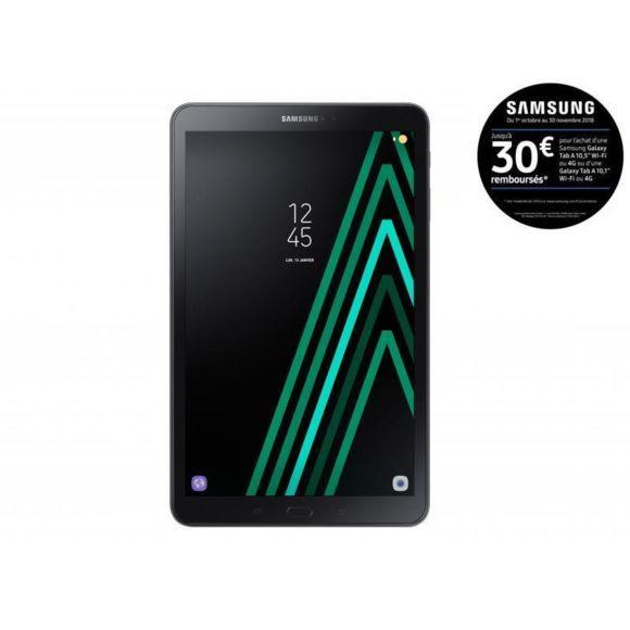 "Tablette 10,1"" Samsung Galaxy Tab A6 (2016) - 32 Go, WiFi, Noir (via ODR 30€)"