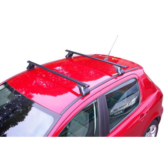 Barres de toit multi marques anti-vol