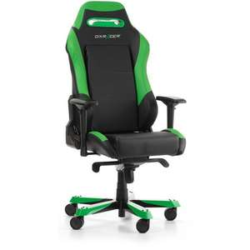 Siège de Bureau Gaming DxRacer Iron I11 - Noir et vert