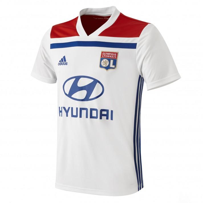 Maillot domicile Adidas Olympique Lyonnais - Saison 2018/2019