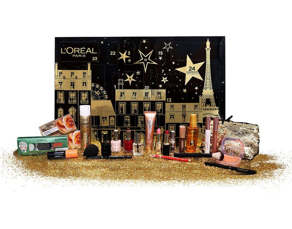 Calendrier de l'avent L'Oréal + Cadeau + Livraison gratuite