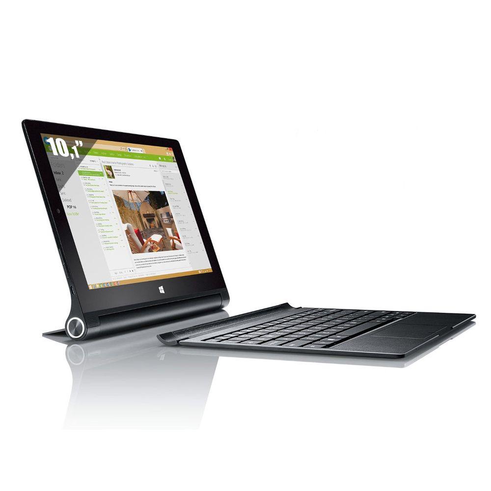 Tablette 10,1'' Lenovo Yoga Tablet 2 - Intel Z3745 Quad Core - 2 Go RAM - 32 Go - Win 8.1 + Clavier (Avec ODR 50€)
