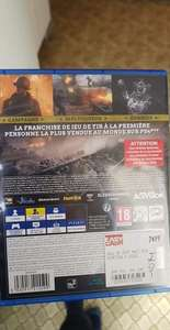 Call of Duty World War II sur PS4 (Occasion) - Grande-Synthe (59)