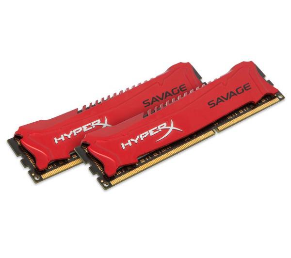 Mémoire RAM Kingston HyperX Savage 16 Go (2 x 8 Go) - 1600, PC3-12800, CL9