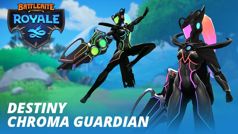 Skin Destiny Chroma Gardien + Arme Chroma offert sur Battlerite : Royale via Razer (Dématérialisé)