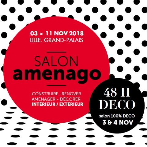 4 entrées gratuite pour le salon Amenago - Lille (59)