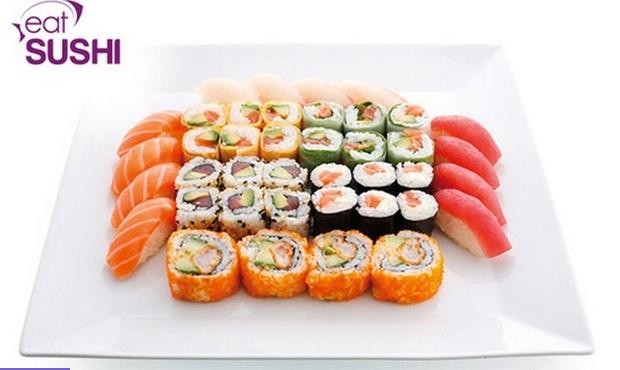 Plateau sushi & maki pour 2 personnes à emporter (33 pièces) - Eat Sushi Toulouse, Saint Cyprien & Compans-Caffarelli (31)