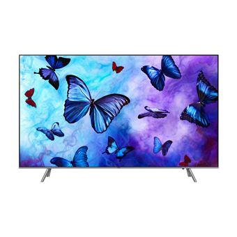 """TV 55"""" Samsung QE55Q6FN (2018) - 4K UHD, HDR10+, QLED, Smart TV (via ODR de 200€)"""