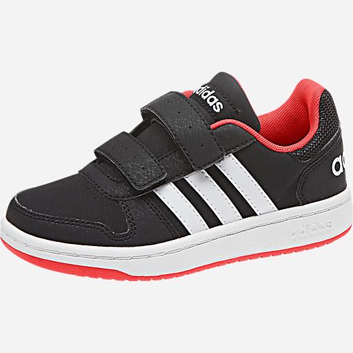 Chaussures pour enfant adidas VS Hoops 2.0 - noir (du 28 au 35)