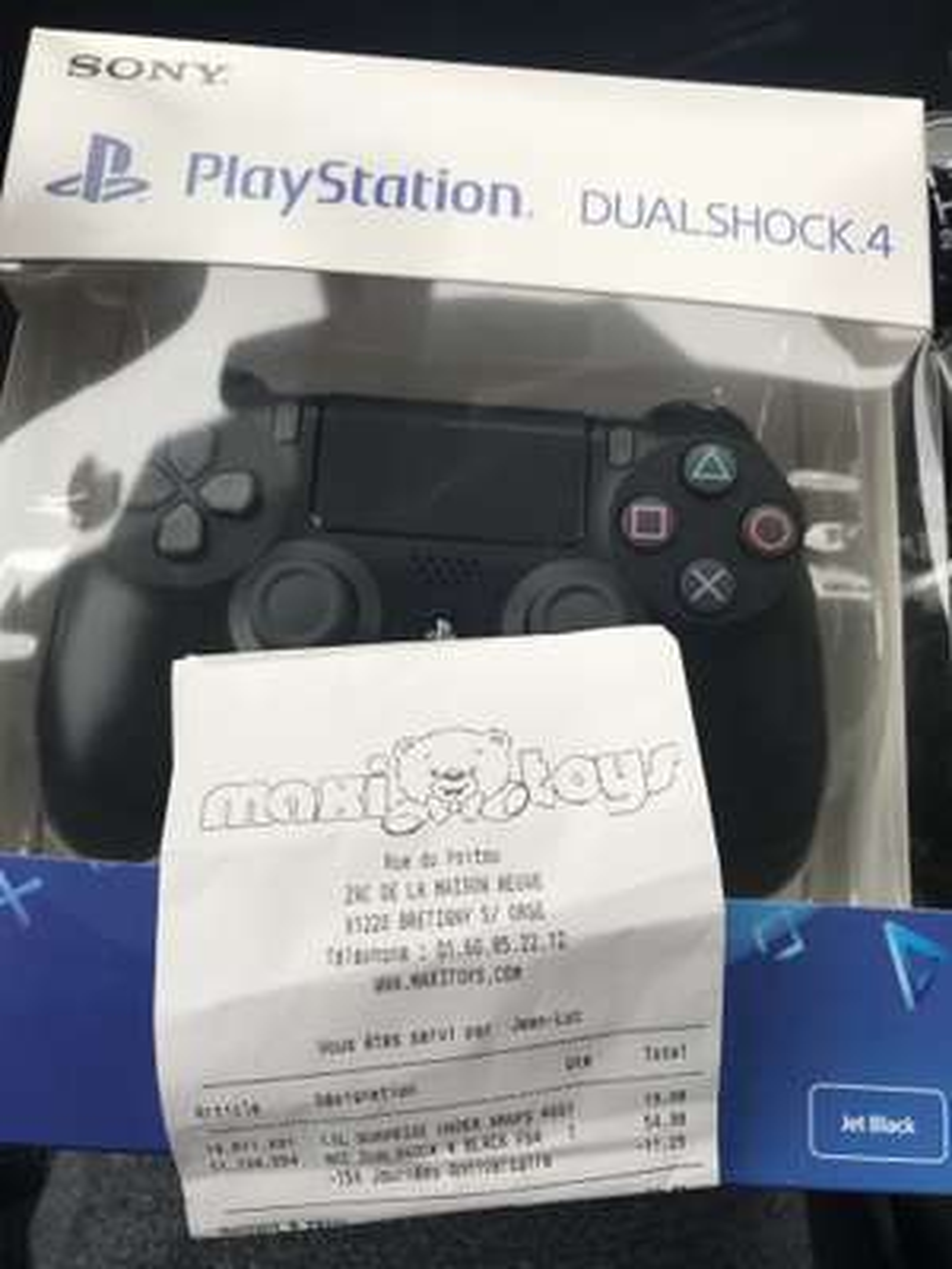 Manette Sony PS4 Dualshock - Noire V2 - Brétigny Sur Orge (91)
