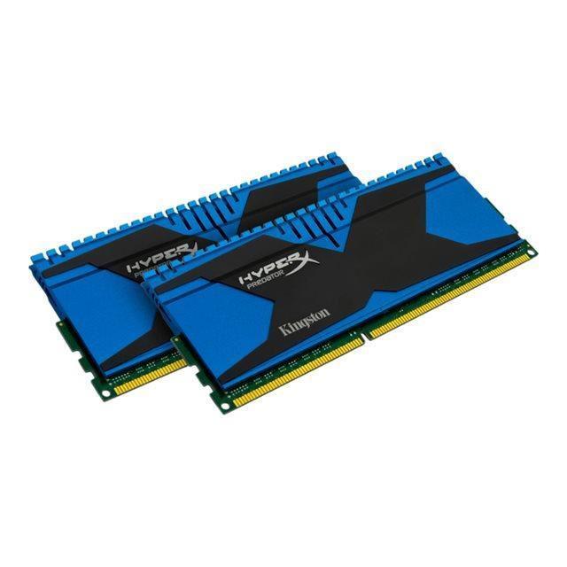 Mémoire RAM Kingston HyperX Predator Series 8 Go (2 x 4 Go) - DDR3 Non-ECC 2400MHz, CL11