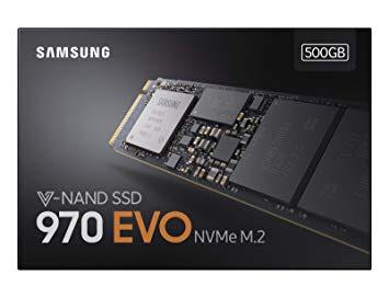 SSD interne M.2 Samsung 970 Evo NVME - 500 Go