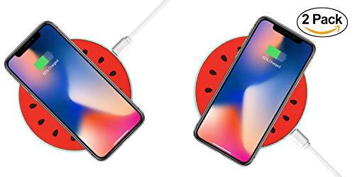 Lot de 2 Chargeurs sans-fil QI pour Smartphones (Vendeur tiers)