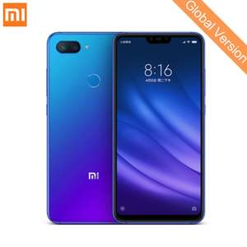 "Smartphone 6.26"" Xiaomi Mi8 Lite - 6Go de RAM, 128Go de ROM, Version Globale"