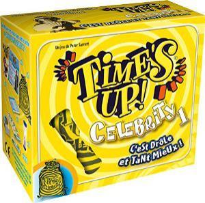 Sélection de jeux de société en promotion - Ex: Time's Up Celebrity 1 (avec ODR 8€)