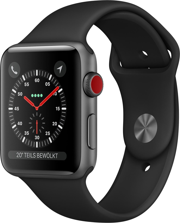 Montre connectée Apple Watch Series 3 - GPS + Cellular (frontaliers Suisse)