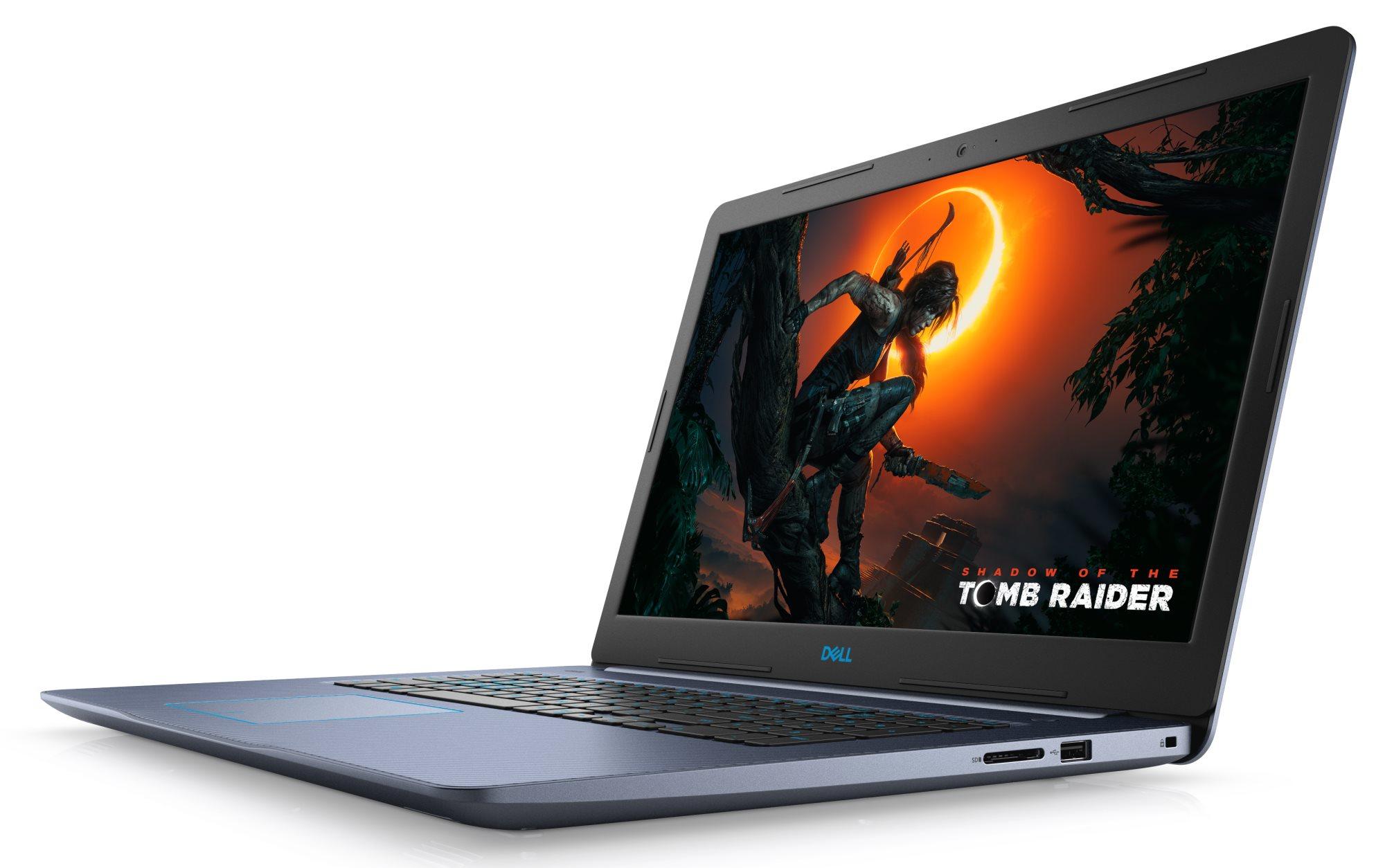 "PC portable 15.6"" full HD Dell G3 15 Gaming - i7-8750H, GTX-1060 (6 Go), 8 Go de RAM, 1 To + 128 Go en SSD, coloris au Choix"