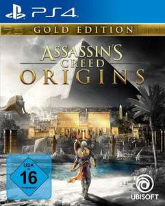 Assassin's Creed Origins - Édition Gold sur PS4 (Frontaliers allemand)