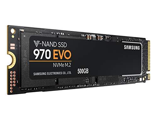 SSD Interne M.2 NVMe Samsung 970 Evo - 500Go