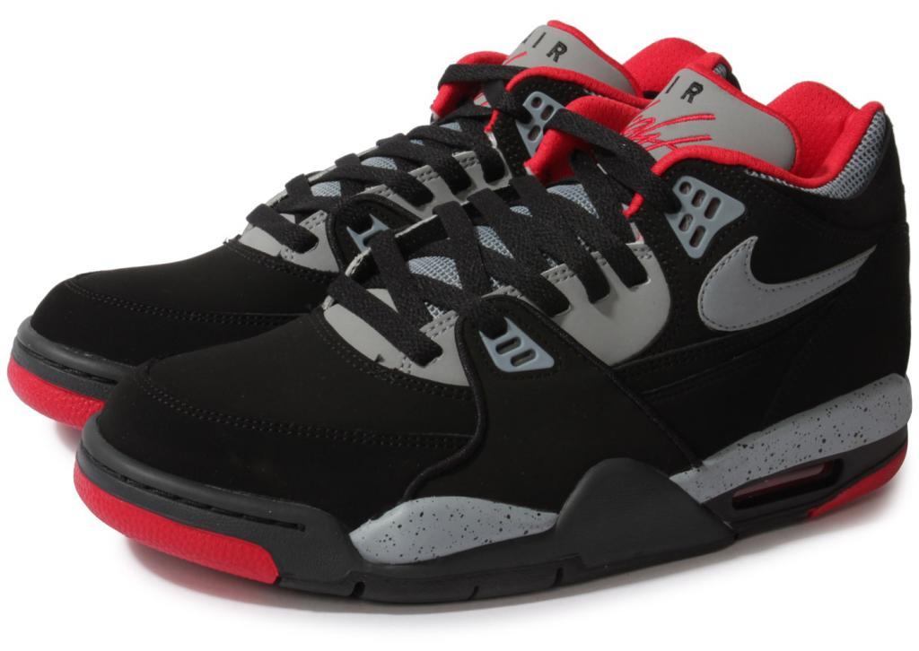Paire de basket Nike Air Flight 89 noire (Plusieurs modèles)