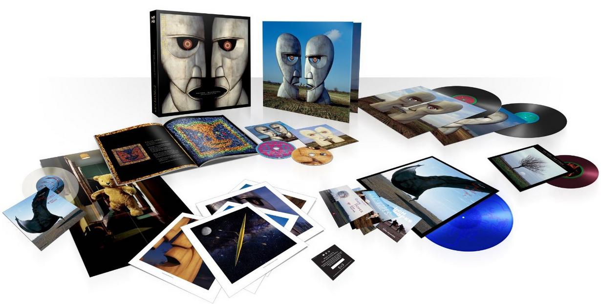 Coffret Pink Floyd The Division Bell - Edition 20ème Anniversaire