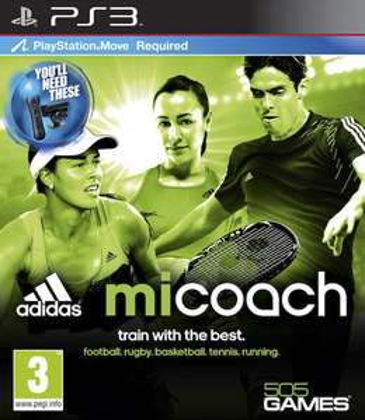Jeu Adidas Micoach sur PS3 / Xbox 360