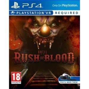 Until Dawn : Rush Of Blood sur PS4 VR
