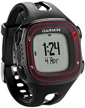 Montre GPS Running Garmin Forerunner 10 - Rouge/Noir