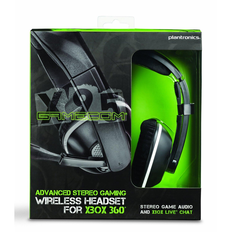Casque sans fil Plantronics GameCom X95 pour Xbox 360