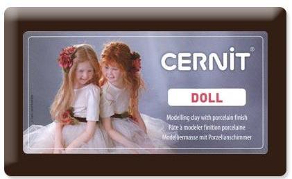 Pâte polymère Cernit doll -  500g