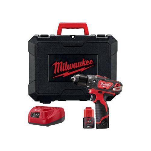 Milwaukee Perceuse à Percussion 12V (38Nm) 2Ah Red Lithium M12