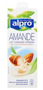 6 Boissons végétales Alpro Amande, Coco, Noisette, Soja, Riz (via Shopmium)