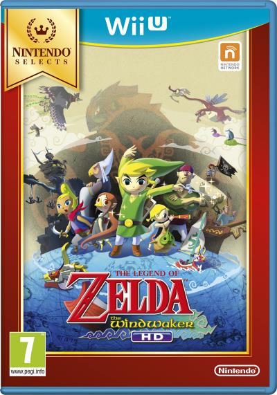 Sélection de jeux en promotion - Ex : Zelda Wind Waker sur Wii U