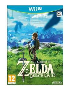 The Legend of Zelda Breath of the Wild sur Wii U