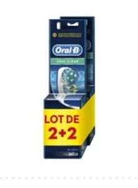 4 Brossettes Oral B Dual Clean - Roncq (59)