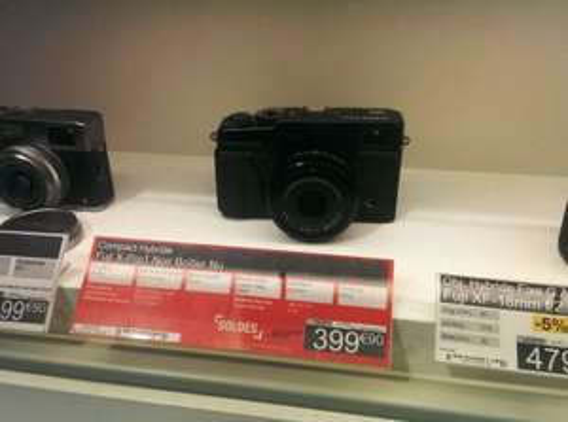 Appareil photo Fujifilm XPro1 boitier nu - Noir